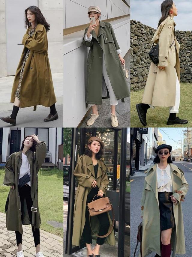 4 màu áo trench coat được những nàng sành điệu diện nhiều nhất mùa lạnh, mặc vu vơ cũng ra set đồ sang xịn ra trò - Ảnh 2.