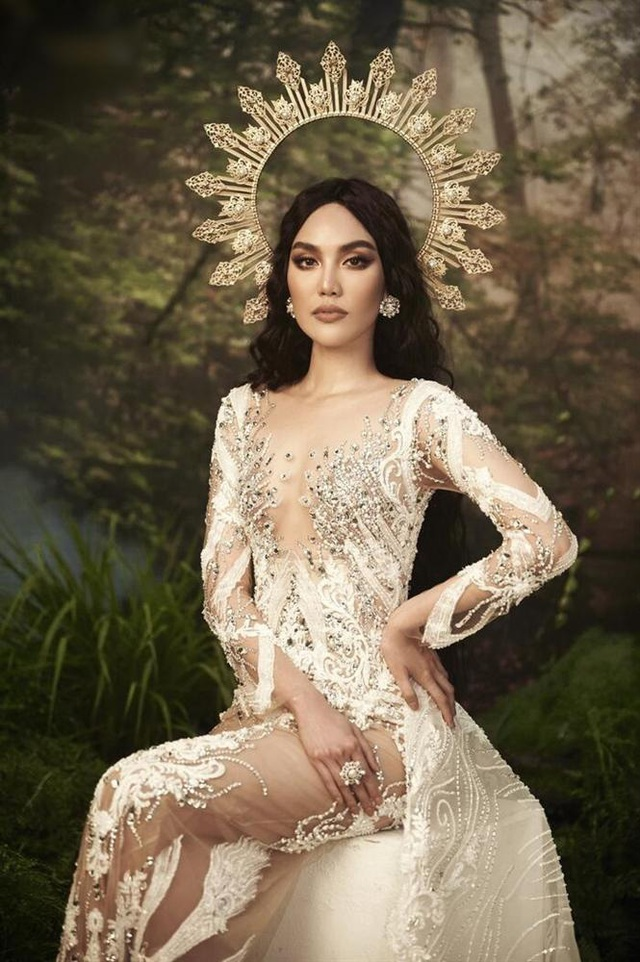 Hà Tăng diện váy basic vẫn cân đẹp dàn sao hóa nữ thần, công chúa - Ảnh 3.