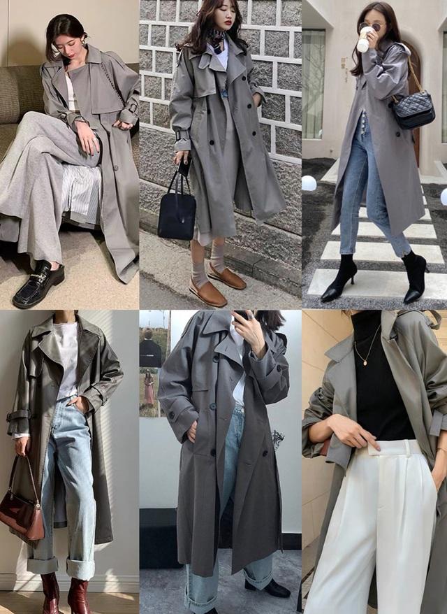 4 màu áo trench coat được những nàng sành điệu diện nhiều nhất mùa lạnh, mặc vu vơ cũng ra set đồ sang xịn ra trò - Ảnh 3.