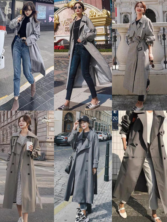 4 màu áo trench coat được những nàng sành điệu diện nhiều nhất mùa lạnh, mặc vu vơ cũng ra set đồ sang xịn ra trò - Ảnh 4.