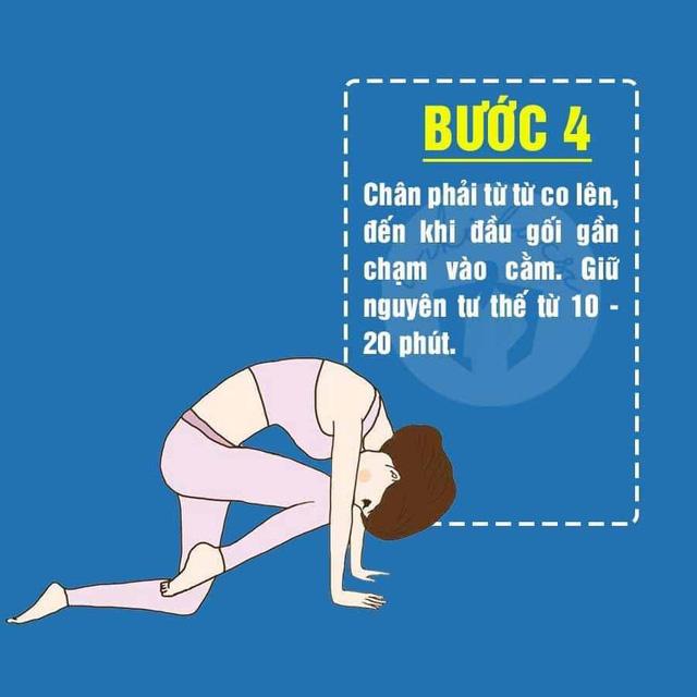 5 động tác Yoga cực đơn giản giúp mông nở chân thon ai cũng có thể tập tại nhà - Ảnh 5.