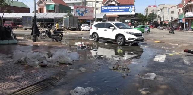 Thành phố Hà Tĩnh ngập chìm trong rác sau khi nước rút - Ảnh 5.