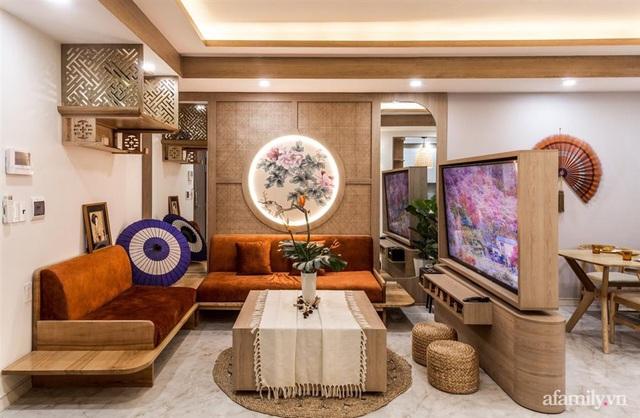 Căn hộ 75m² ghi điểm với thiết kế phong cách Nhật tinh tế có chi phí hoàn thiện 400 triệu đồng ở Sài Gòn - Ảnh 2.