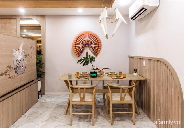 Căn hộ 75m² ghi điểm với thiết kế phong cách Nhật tinh tế có chi phí hoàn thiện 400 triệu đồng ở Sài Gòn - Ảnh 11.