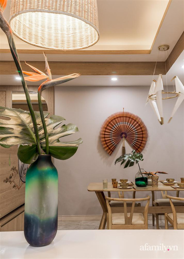 Căn hộ 75m² ghi điểm với thiết kế phong cách Nhật tinh tế có chi phí hoàn thiện 400 triệu đồng ở Sài Gòn - Ảnh 12.