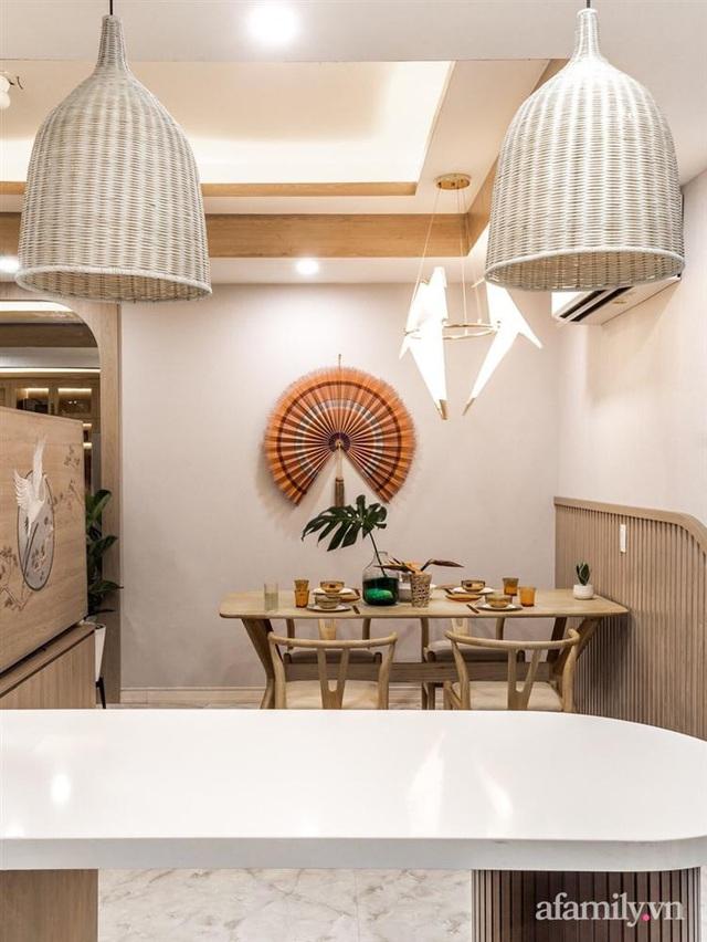 Căn hộ 75m² ghi điểm với thiết kế phong cách Nhật tinh tế có chi phí hoàn thiện 400 triệu đồng ở Sài Gòn - Ảnh 13.