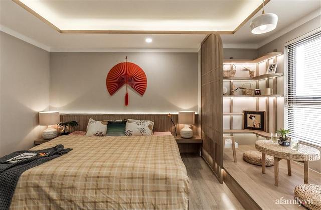 Căn hộ 75m² ghi điểm với thiết kế phong cách Nhật tinh tế có chi phí hoàn thiện 400 triệu đồng ở Sài Gòn - Ảnh 14.