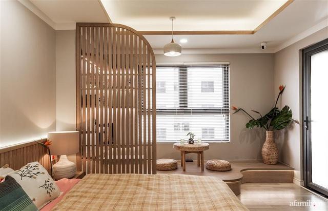 Căn hộ 75m² ghi điểm với thiết kế phong cách Nhật tinh tế có chi phí hoàn thiện 400 triệu đồng ở Sài Gòn - Ảnh 15.