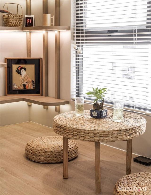 Căn hộ 75m² ghi điểm với thiết kế phong cách Nhật tinh tế có chi phí hoàn thiện 400 triệu đồng ở Sài Gòn - Ảnh 17.