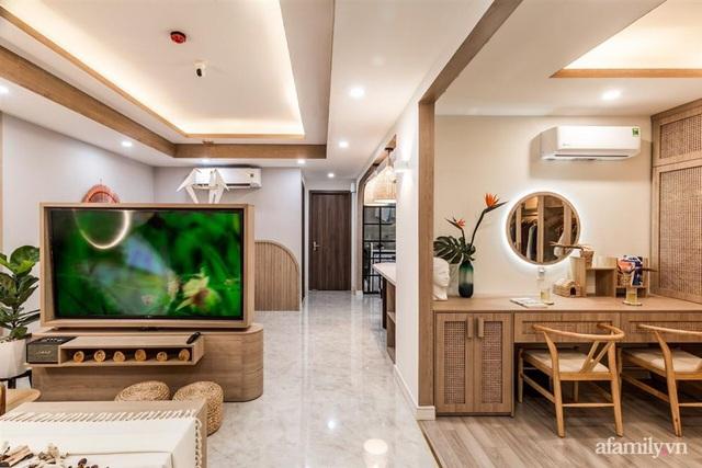 Căn hộ 75m² ghi điểm với thiết kế phong cách Nhật tinh tế có chi phí hoàn thiện 400 triệu đồng ở Sài Gòn - Ảnh 3.