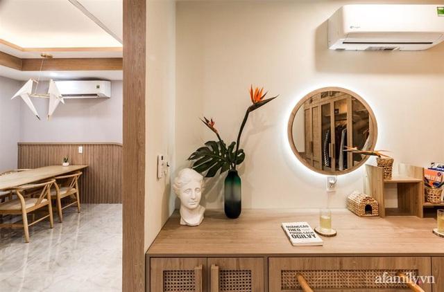 Căn hộ 75m² ghi điểm với thiết kế phong cách Nhật tinh tế có chi phí hoàn thiện 400 triệu đồng ở Sài Gòn - Ảnh 8.