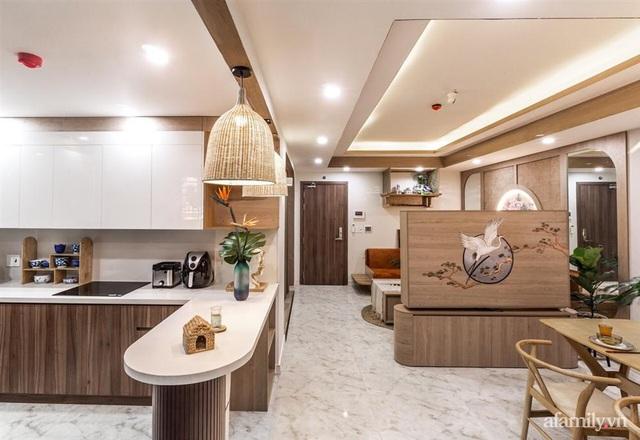 Căn hộ 75m² ghi điểm với thiết kế phong cách Nhật tinh tế có chi phí hoàn thiện 400 triệu đồng ở Sài Gòn - Ảnh 9.