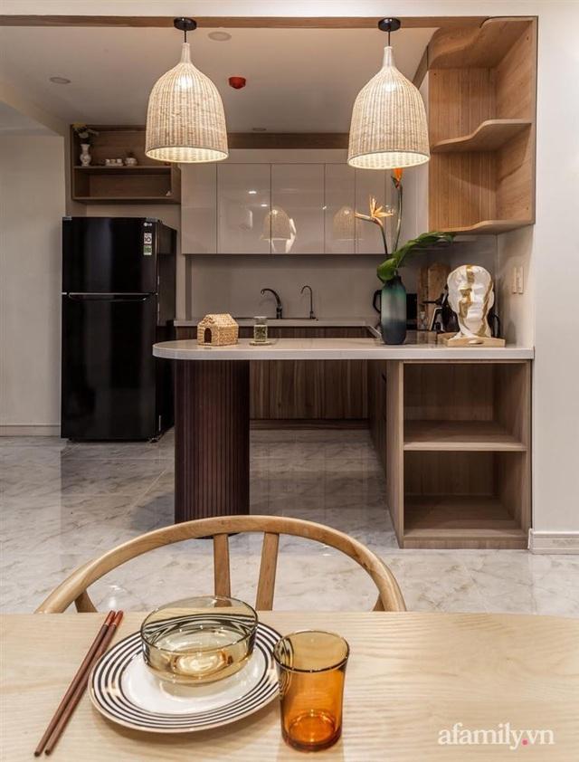 Căn hộ 75m² ghi điểm với thiết kế phong cách Nhật tinh tế có chi phí hoàn thiện 400 triệu đồng ở Sài Gòn - Ảnh 10.