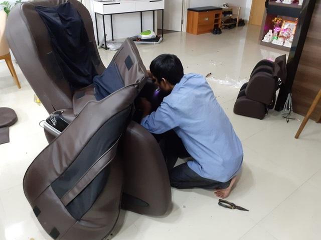 Kinh nghiệm gọi thợ sửa ghế massage và máy chạy bộ khi cần - Ảnh 3.