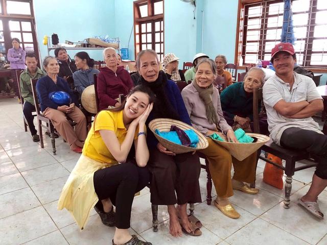 Hoa hậu hoàn vũ Việt Nam chung tay hỗ trợ cộng đồng, khắc phục thiên tai bão lũ - Ảnh 3.