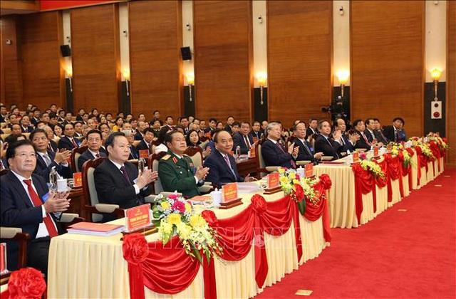 Thủ tướng dự Đại hội đại biểu Đảng bộ tỉnh Phú Thọ lần thứ XIX  - Ảnh 3.