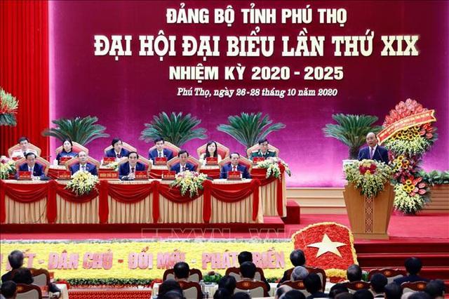 Thủ tướng dự Đại hội đại biểu Đảng bộ tỉnh Phú Thọ lần thứ XIX  - Ảnh 4.