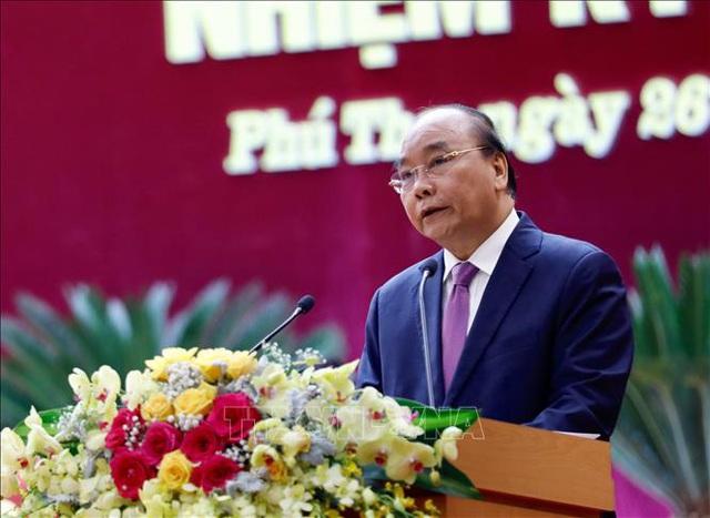 Thủ tướng dự Đại hội đại biểu Đảng bộ tỉnh Phú Thọ lần thứ XIX  - Ảnh 5.