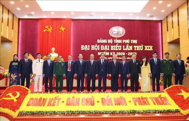 Thủ tướng dự Đại hội đại biểu Đảng bộ tỉnh Phú Thọ lần thứ XIX  - Ảnh 6.