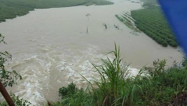 Mưa lớn do bão số 9, Hà Tĩnh ngập trở lại - Ảnh 5.