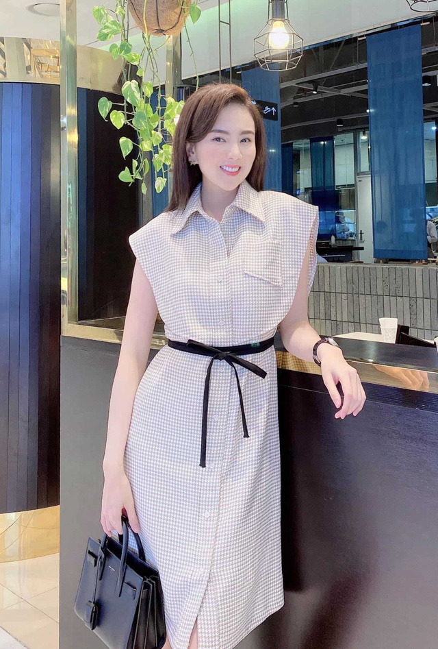 Khoe mặc váy đôi với nữ thần Hàn Quốc, Mai Ngọc hóa quý cô thời thượng đẹp chẳng thua - Ảnh 19.