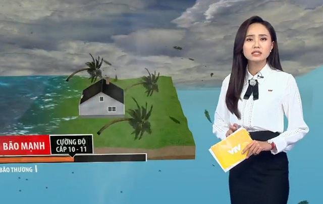 BTV thời tiết Xuân Anh kể 30 lần lên sóng trong 2 ngày dẫn bão số 9 - Ảnh 4.