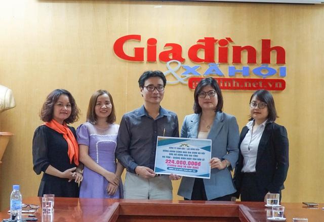 Công ty Toàn Cầu – Lạc Hồng Viên đồng hành Báo Gia đình & Xã hội hỗ trợ 14 tấn gạo tới Hà Tĩnh và Quảng Bình - Ảnh 2.