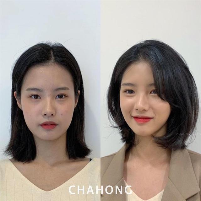 5 kiểu tóc chân ái cho nàng mặt tròn, khiến nhan sắc thanh tú như mới đi tiêm cằm Vline - Ảnh 4.