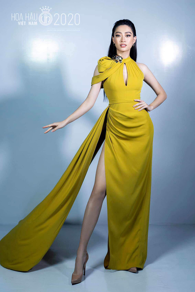 Vòng 1 ăn đứt đàn chị, Hoa hậu 2K còn là nàng thơ của NTK Việt nhờ đôi chân 1,22m - Ảnh 8.