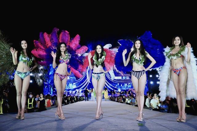 5 cô gái mặc bikini đẹp nhất HHVN 2020 chia sẻ bí quyết giữ dáng và hậu trường catwalk - Ảnh 1.