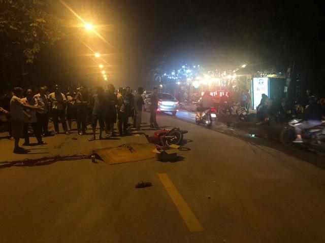 Hà Nội: Va chạm giữa 2 xe máy khiến 4 người thương vong - Ảnh 1.