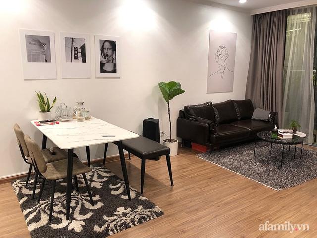 Gói gọn trong chi phí 50 triệu đồng, căn hộ 82m² của chàng trai Hà Nội độc thân vẫn cuốn hút người nhìn - Ảnh 1.