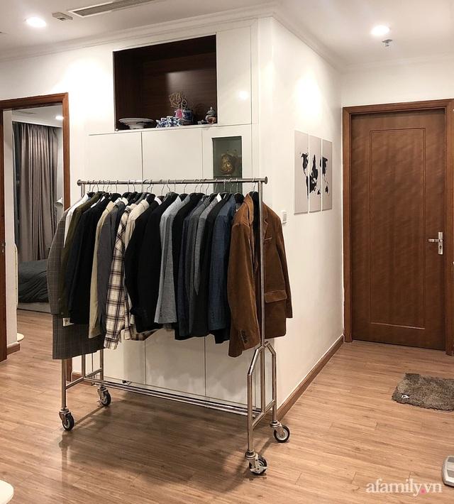 Gói gọn trong chi phí 50 triệu đồng, căn hộ 82m² của chàng trai Hà Nội độc thân vẫn cuốn hút người nhìn - Ảnh 13.