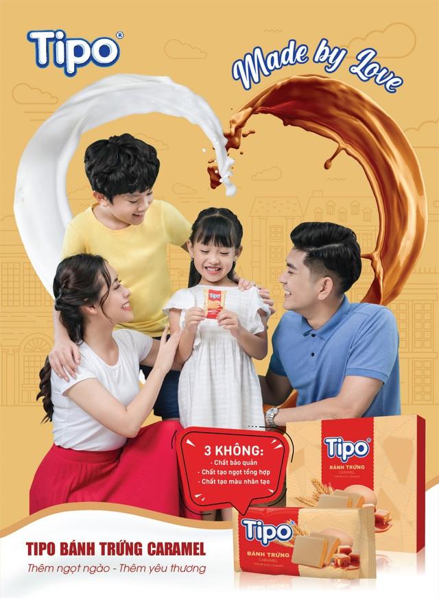 Bánh trứng Tipo caramel mới - thêm ngọt ngào - thêm yêu thương cho cả gia đình - Ảnh 4.