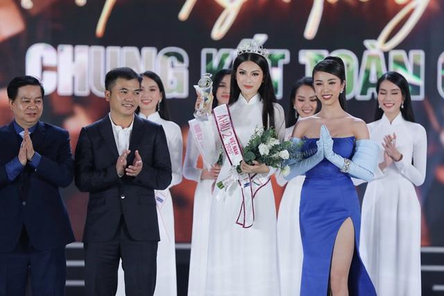 Phần thi ứng xử của Tân Hoa hậu Đỗ Thị Hà được cho là chưa thuyết phục - Ảnh 4.