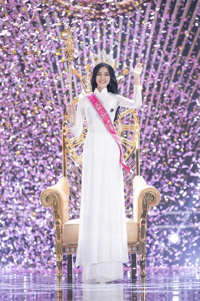 Phần thi ứng xử của Tân Hoa hậu Đỗ Thị Hà được cho là chưa thuyết phục - Ảnh 3.