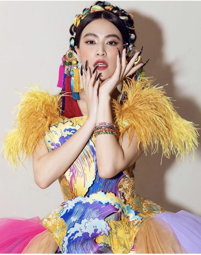 Hoàng Thuỳ Linh bị chê hát live kém trong chung kết Hoa hậu Việt Nam - Ảnh 5.