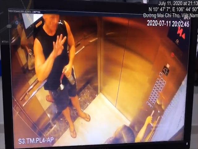 Người phụ nữ bị vỗ mông trong thang máy ở TP.HCM - Ảnh 2.