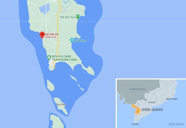Tìm thấy thi thể người phụ nữ tử vong ở biển Phú Quốc - Ảnh 1.