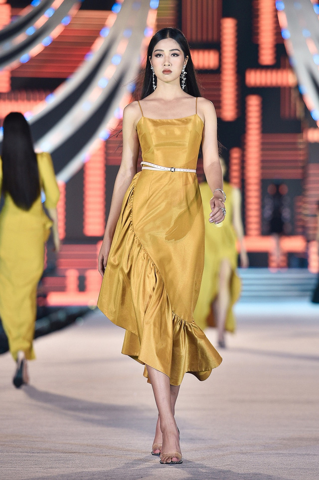 Vân Ly - từ tiếp viên hàng không đến Top 10 Hoa hậu Việt Nam - Ảnh 9.