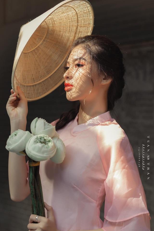 Vóc dáng gợi cảm của Á hậu Nguyễn Lê Ngọc Thảo - Ảnh 10.