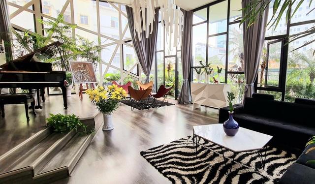 Không gian sống nhà trong vườn đầy lãng mạn của ca sĩ Thùy Dung - Ảnh 4.