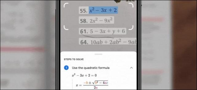 Cách giải toán nhanh bằng Google Lens - Ảnh 1.