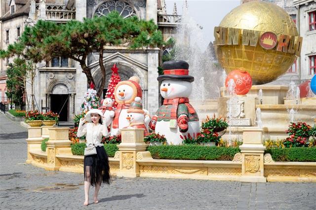 Mùa Giáng sinh 2020 tại Sun World Ba Na Hills sẽ kéo dài đến 31/12 - Ảnh 1.