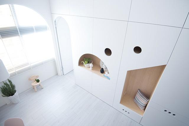 Bí mật đắt giá giúp gia đình 3 thành viên sống thoải mái, tiện nghi trong căn hộ 15m² - Ảnh 4.