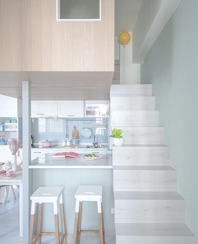 Bí mật đắt giá giúp gia đình 3 thành viên sống thoải mái, tiện nghi trong căn hộ 15m² - Ảnh 7.