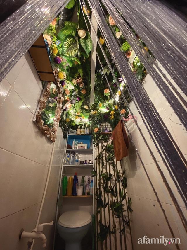 Phòng đi thuê 9m² lột xác với góc nào cũng chill như homestay ở Sài Gòn - Ảnh 12.