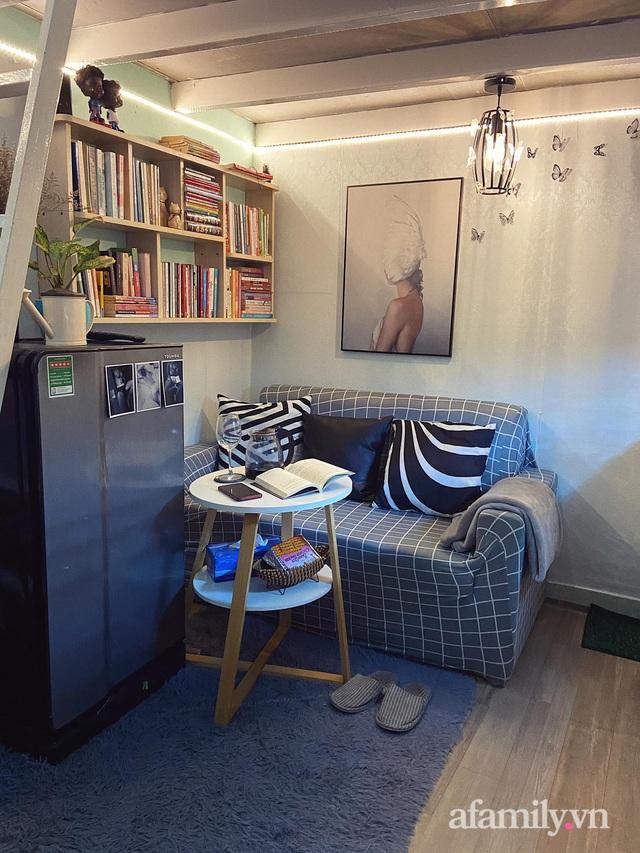 Phòng đi thuê 9m² lột xác với góc nào cũng chill như homestay ở Sài Gòn - Ảnh 16.