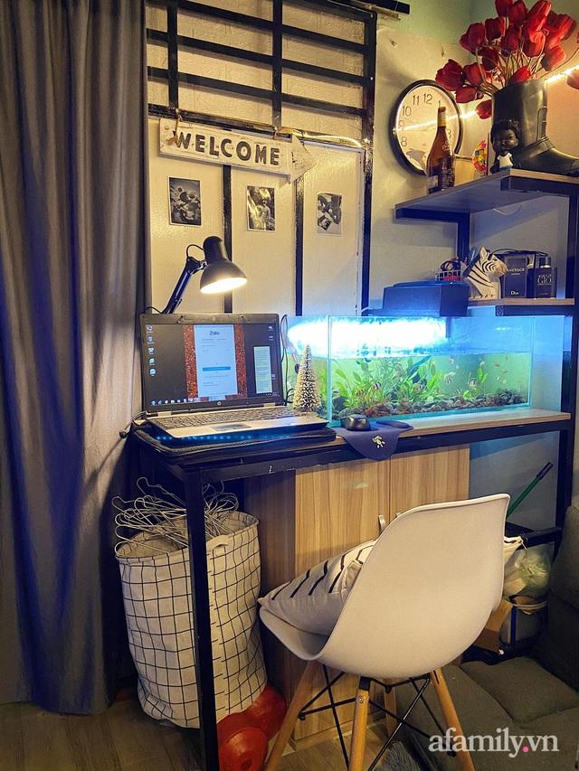 Phòng đi thuê 9m² lột xác với góc nào cũng chill như homestay ở Sài Gòn - Ảnh 17.