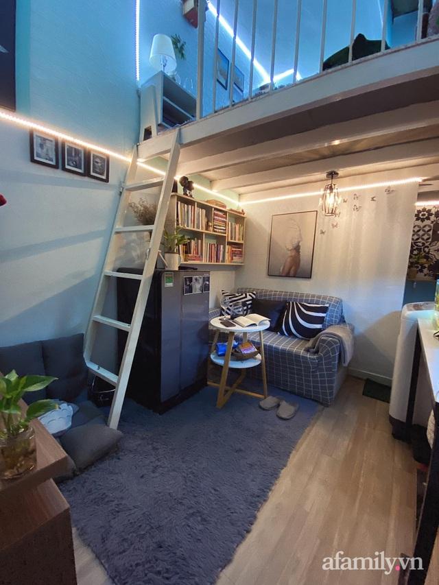 Phòng đi thuê 9m² lột xác với góc nào cũng chill như homestay ở Sài Gòn - Ảnh 3.
